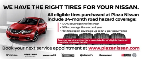 We have the right tires for your Nissan!