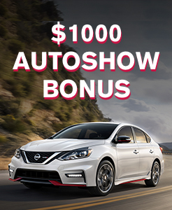 Up to $1000 Autoshow bonus with lease or finance on new vehicle